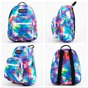 💗NWOT💗JANSPORT Half Pint Dye Bomb Mini Backpack